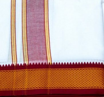 Korvai Dhoti Weaving of Tamil Nadu