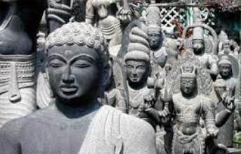 Granite Stone Carving of Pondicherry