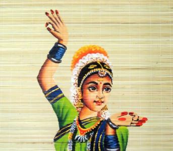 Bamboo Mat Painting of Kerala