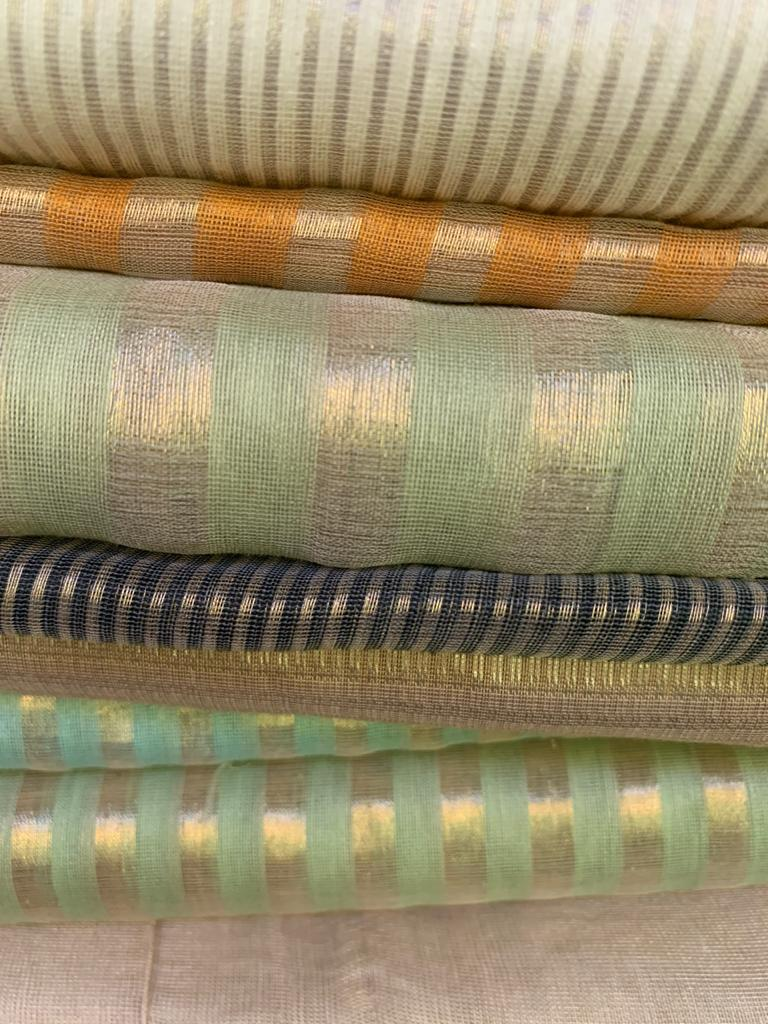 Chanderi Weaving of Chanderi, Madhya Pradesh