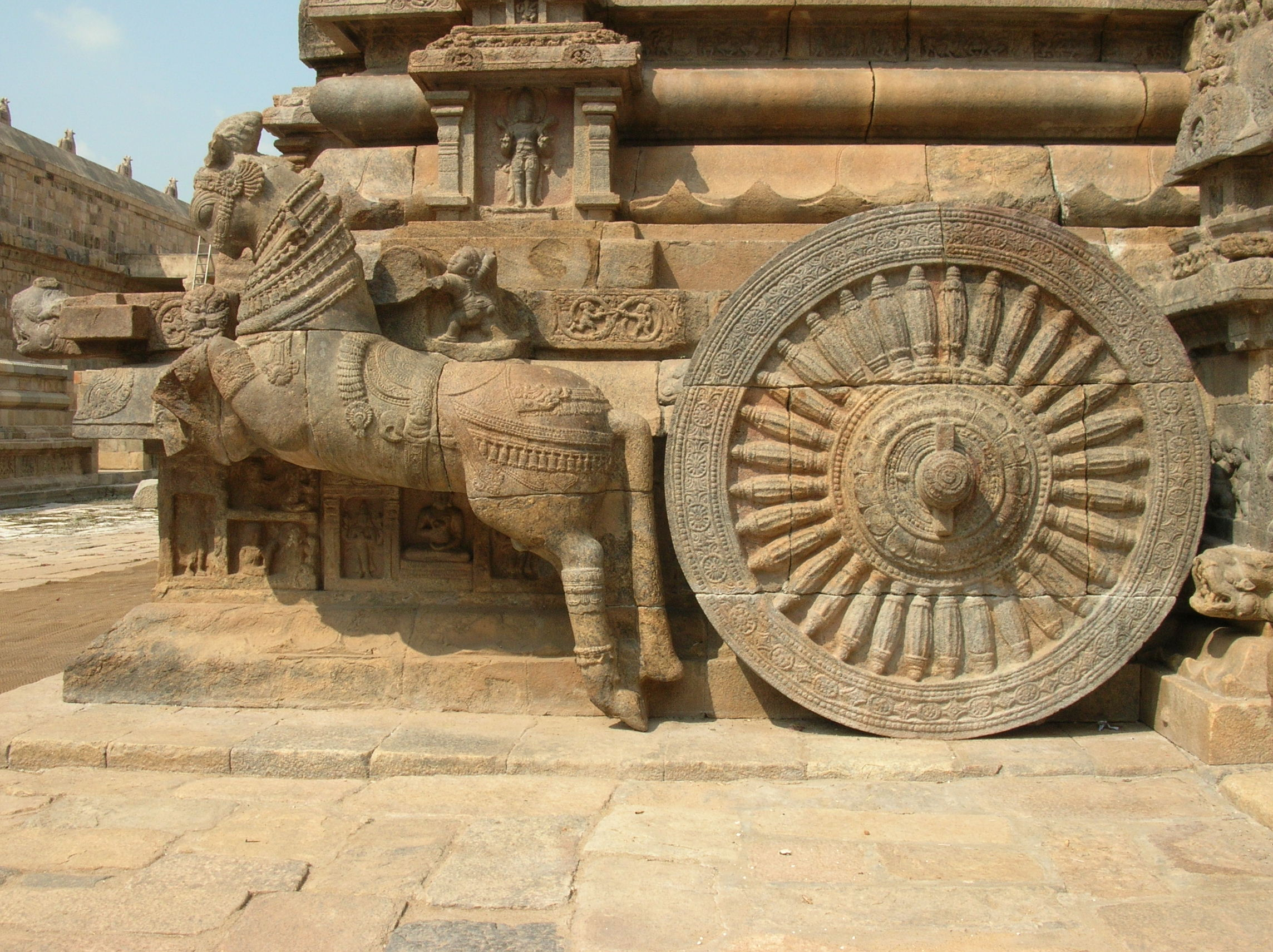 Vahanam : Temple Chariots for Deities of Tamil Nadu
