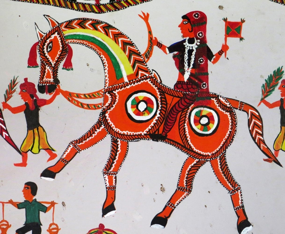Pithora Tribal Art of Gujarat