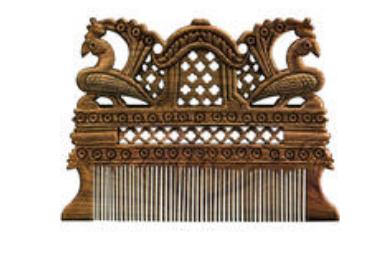 Lac Combs and Hair Ornaments of Odisha