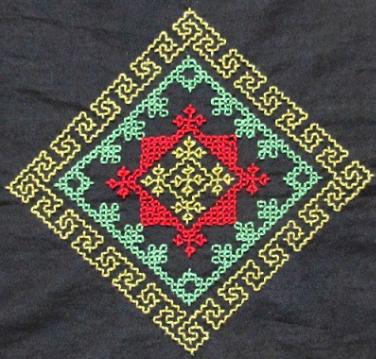 Kasuti Embroidery of Karnataka
