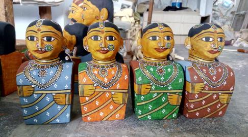 Saw Dust Toys of Andhra Pradesh