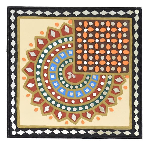 Mudwall Painting of Kutch, Gujarat