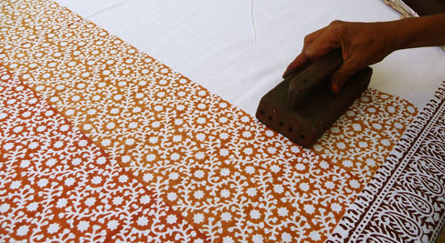 Gamthi Hand Block Printing of Gujarat