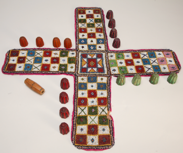 Pachisi / Board game of Nepal