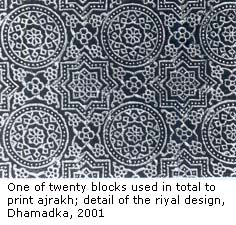 The Work of the Khatris of Dhamadka Block-Printed and Resist -Dyed Textiles