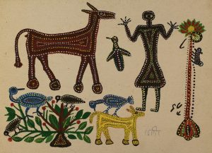 Bhil Tribal Painting of Madhya Pradesh