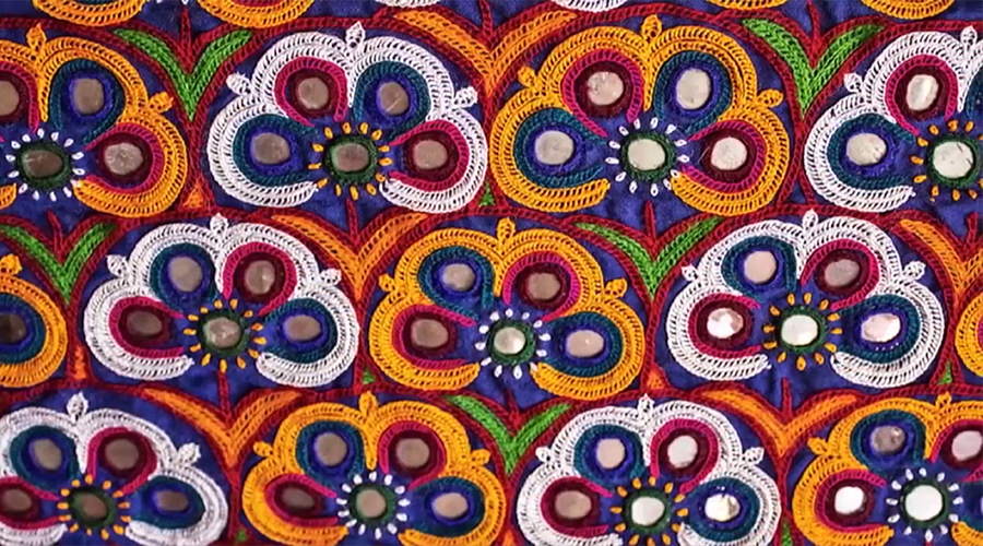 Ahir Embroidery of Gujarat