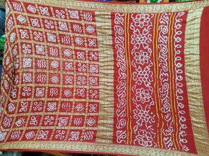 Bandhej-Tie-Resist-Dyeing of Gujarat