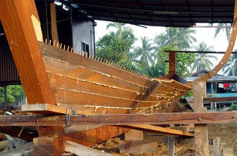 Wood Boat Making of Goa