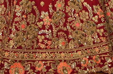Zari/Zardozi/Metallic Thread Embroidery of Delhi