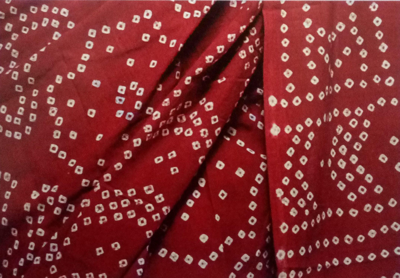Bandhej and Leheriya/Cloth Tie-Resist-Dyeing of Sawai Madhopur, Rajasthan