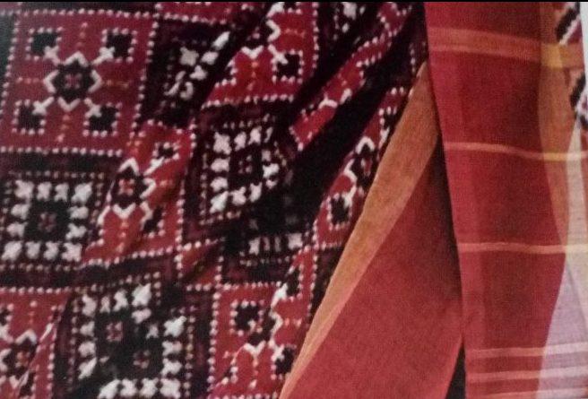 Tabelu Burra Cotton Sari of Andhra Pradesh