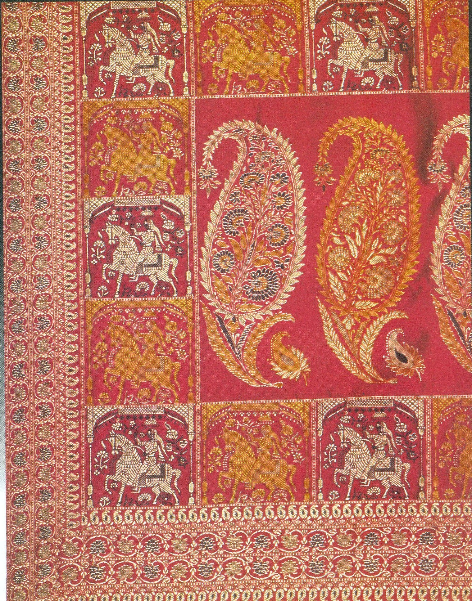 Baluchari Saris of West Bengal