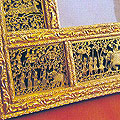 Thewa/Gold Filigree on Glass of Madhya Pradesh