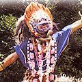 Ritual Masks of Papier Mache