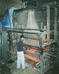 Jacquard Machine Fitted Loom