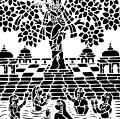 Sanjhi/Hand Cutting of Paper for Rangoli