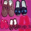 Woollen Shoes of Manipur