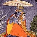 Basholi Miniature Painting of Jammu and Kashmir