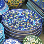Blue Pottery of Jaipur, Rajasthan