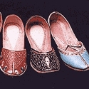 Leather Embroidered Footwear/Tilla Jutti of Punjab