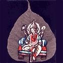 Peepal/Banyan Leaf Painting of Tamil Nadu