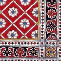 Kalamkari on Cloth of Sickinaikkenpet, Tamil Nadu