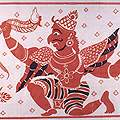 Flags and Cloth Paintings of Sri Lanka