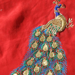 Danke ka Kaam / Embroidery with Metal Pieces and Zardozi of Rajasthan