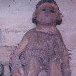 Root Carving of Tripura