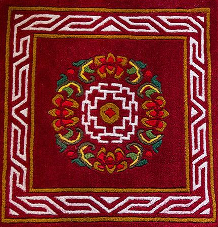 Dhurries and Carpets Weaving of Sikkim