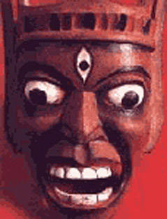 Wooden Masks of West Bengal