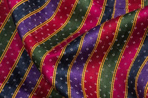 Mashru/Satin-Cotton Weaving of Gujarat