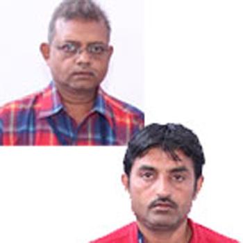 Vijaybhai Solanki and Dipakbhai Vyas