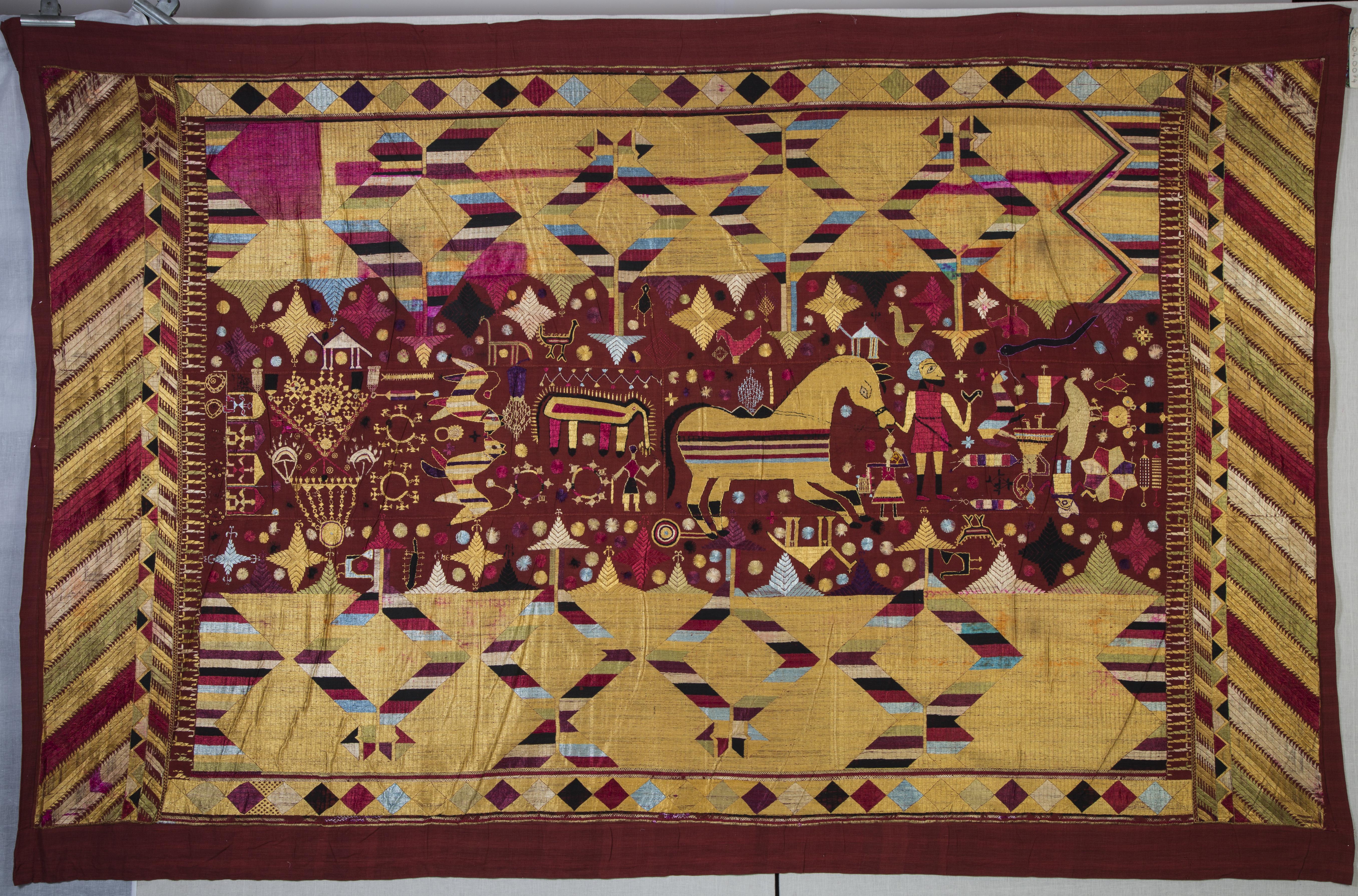 Shawl (Senchi Phulkari)