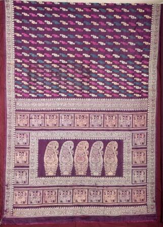 Baluchari Sari.
