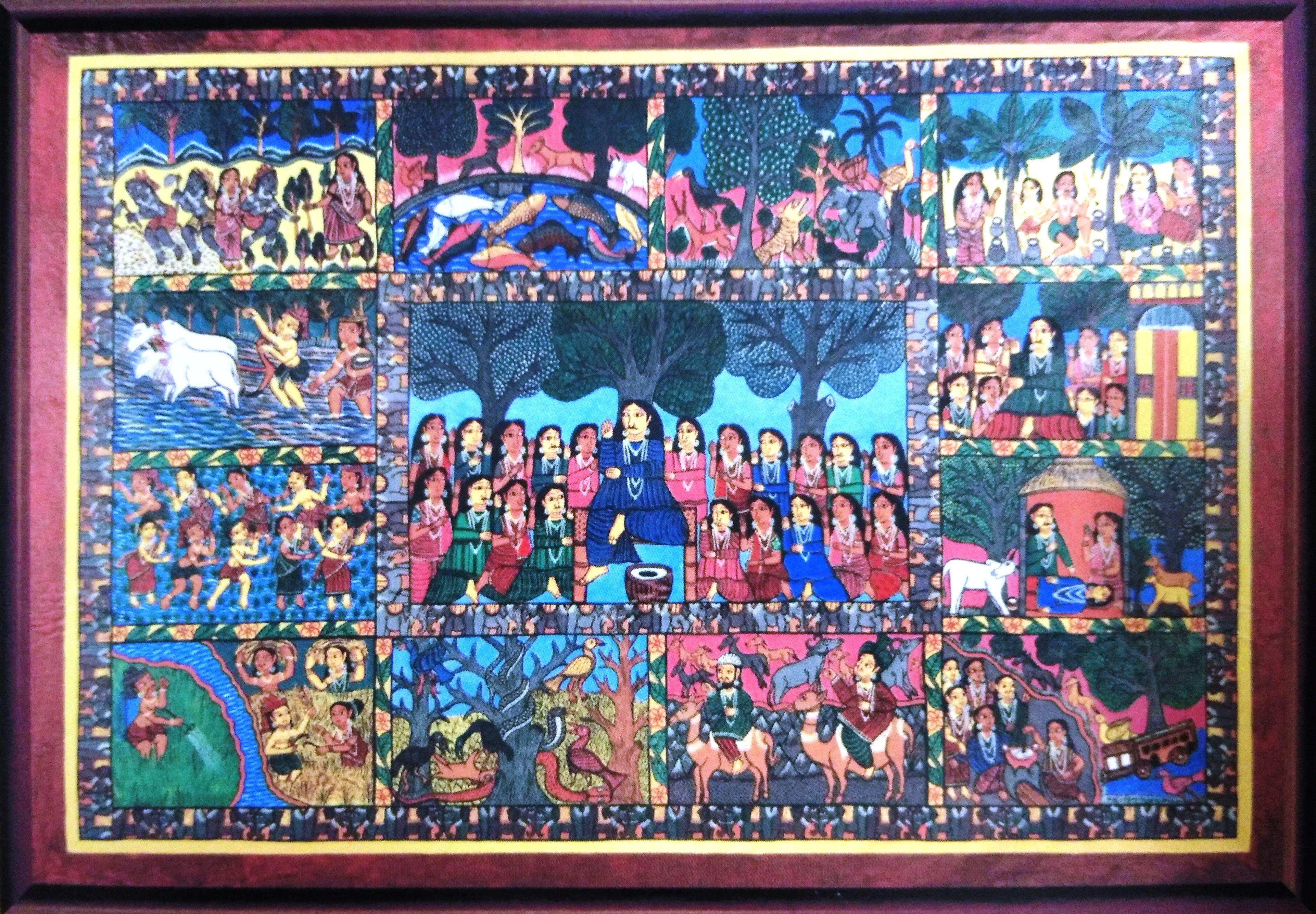Patua Painting