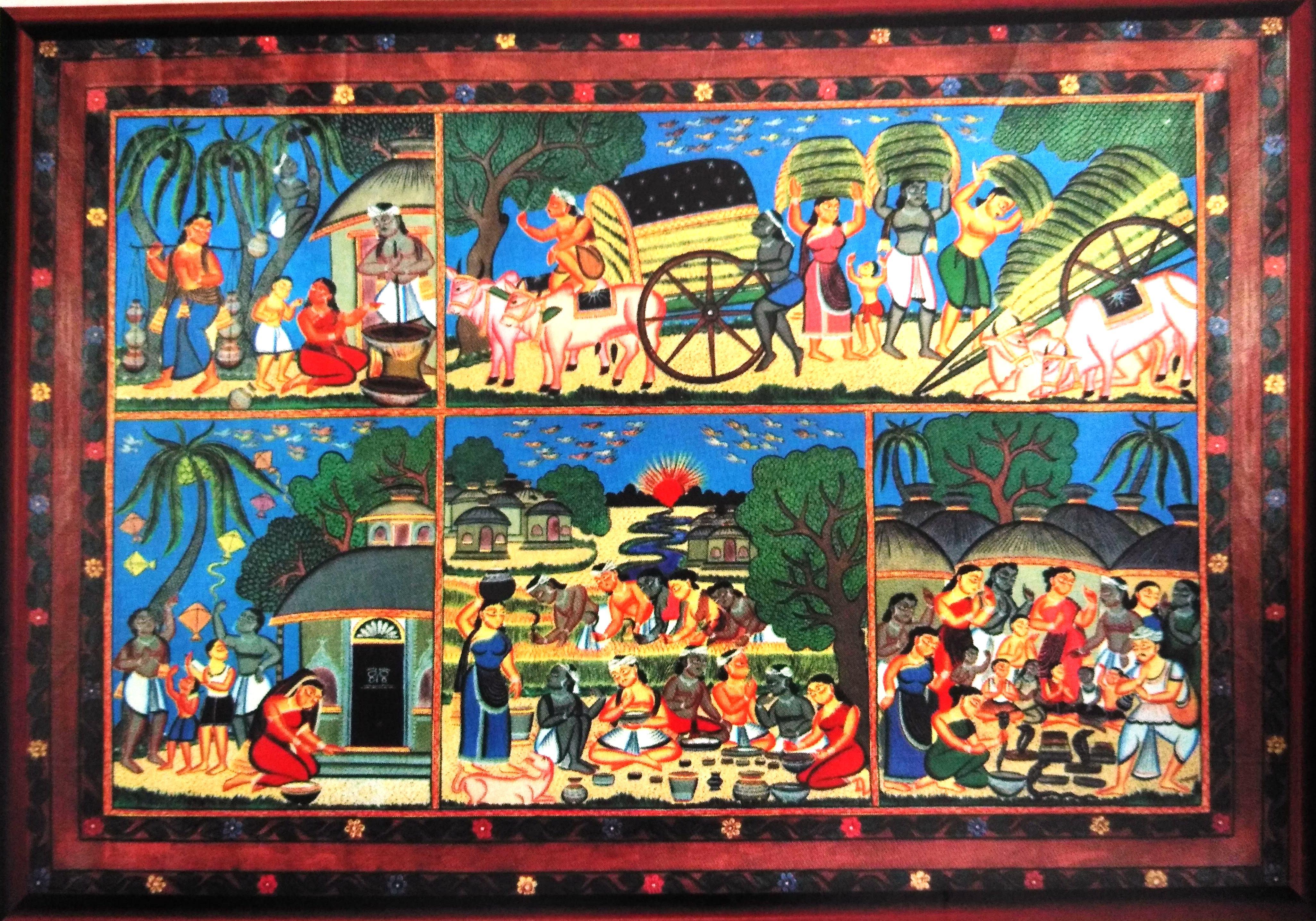 Kali Ghat Painting