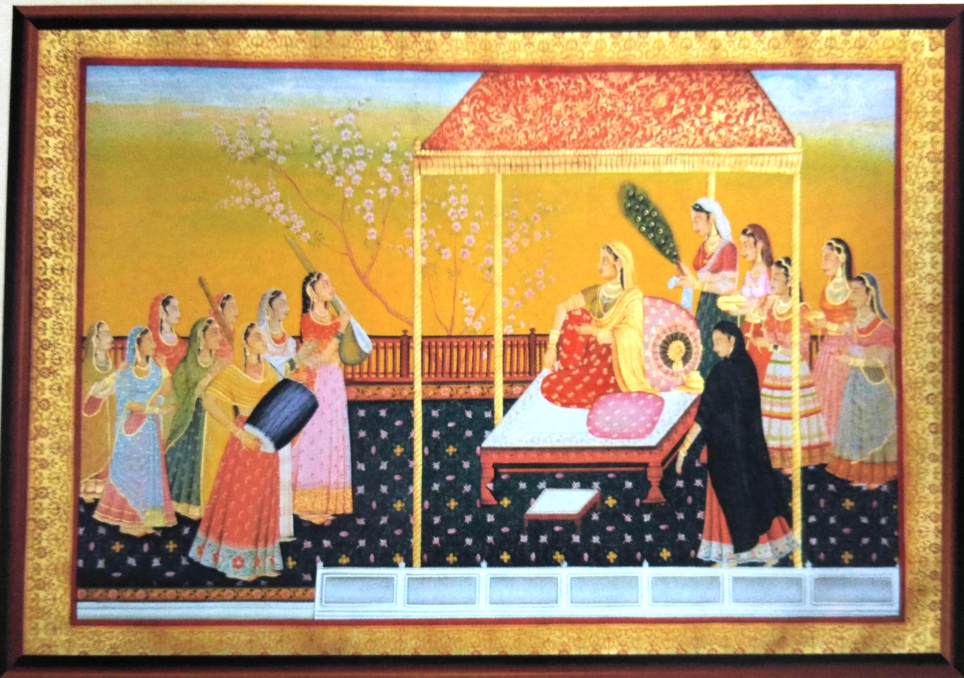 Chamba School Painting