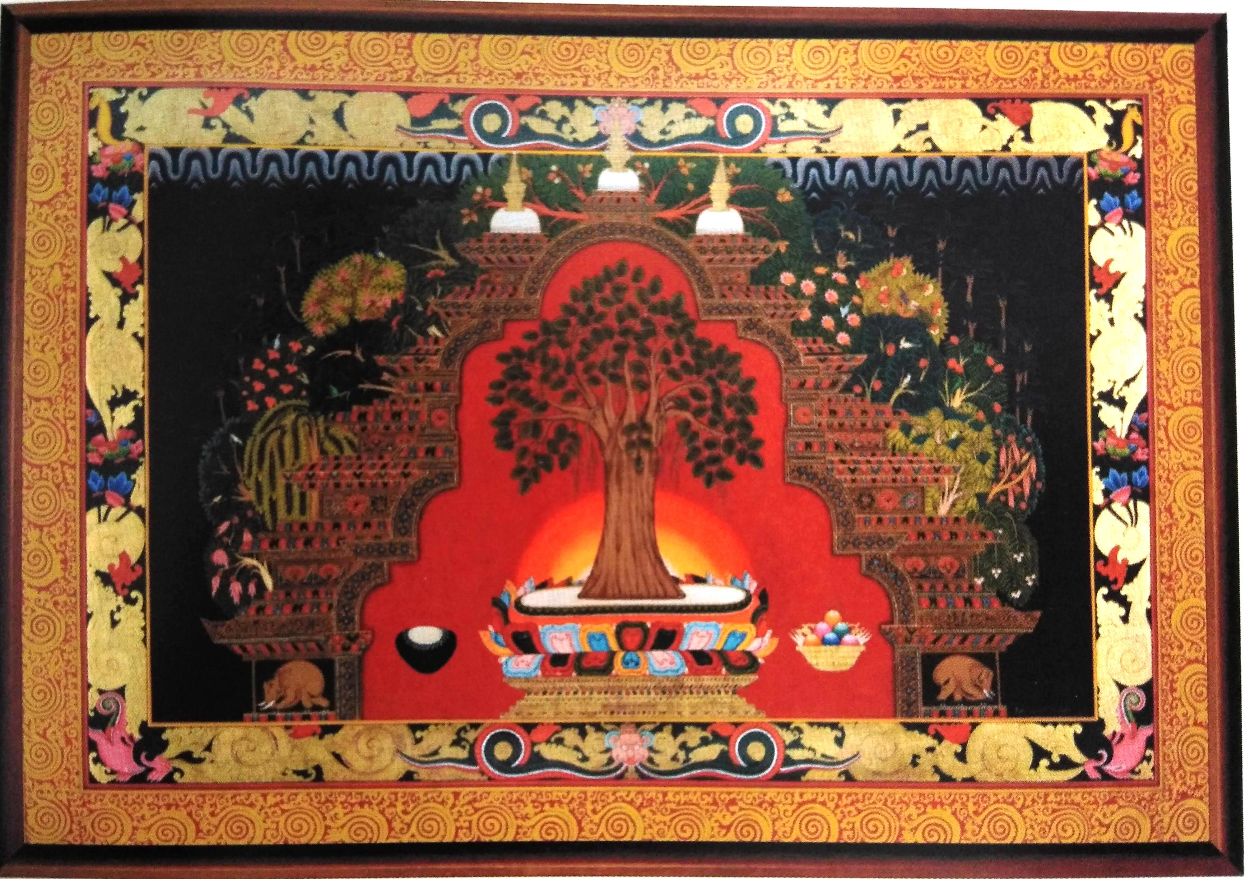 Tankha Style Painting