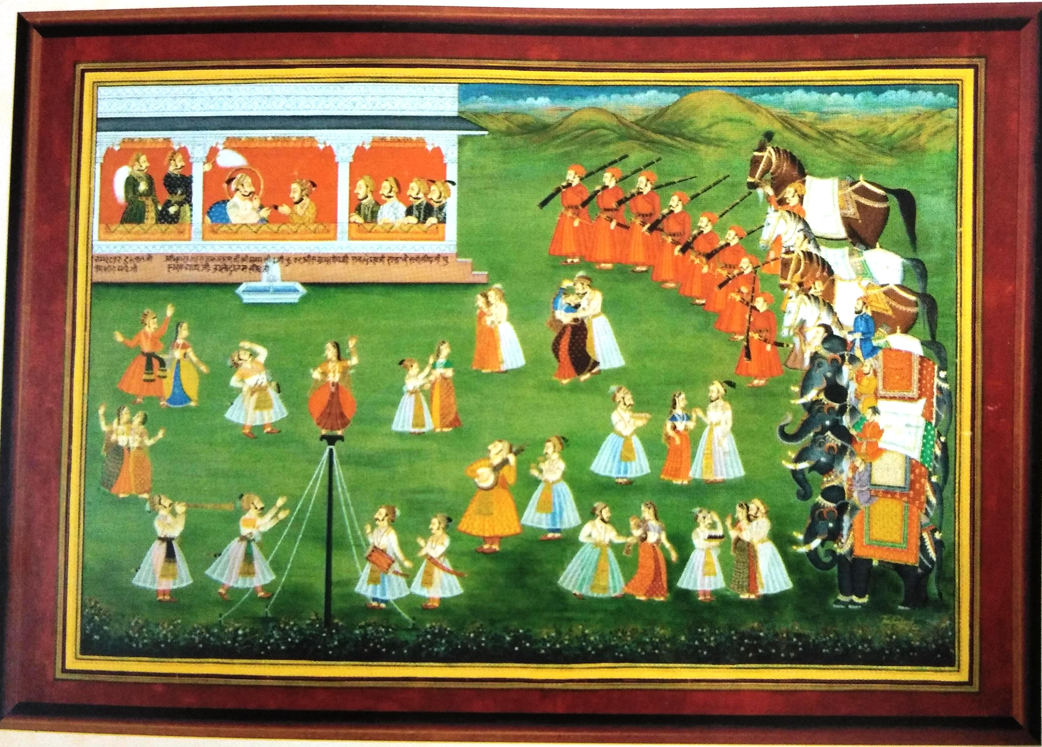 Mewar School Painting