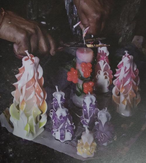 Candle/Wax Craft of Uttarakhand