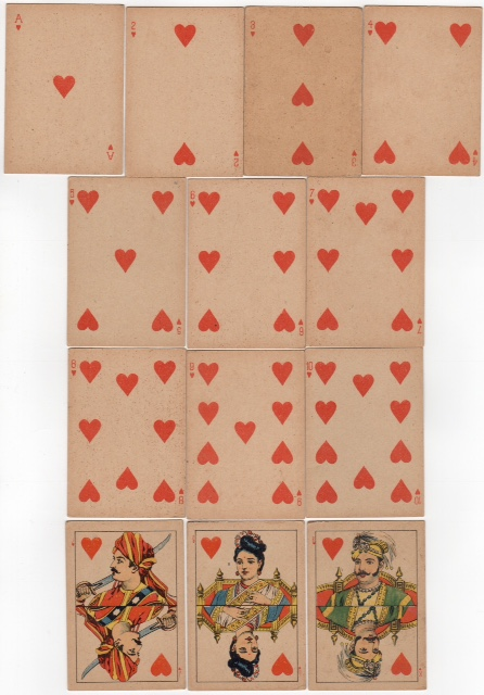 Raja Ravi Varma Playing Cards
