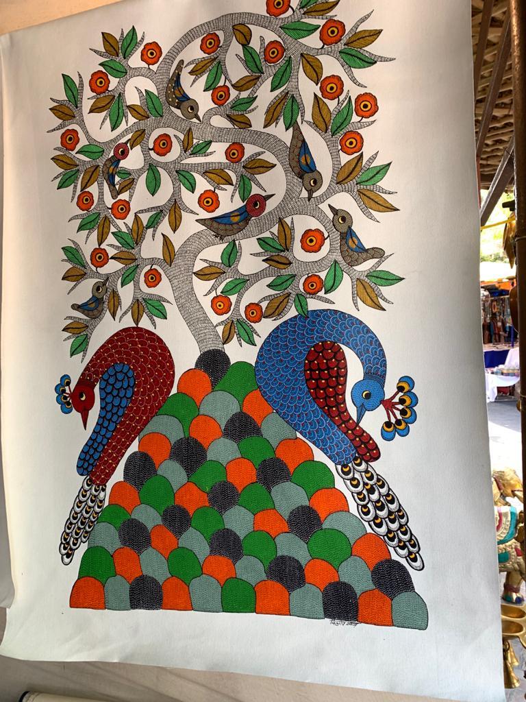 Gond Chitrakari Tribal Painting of Madhya Pradesh
