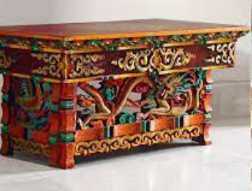 Painted Woodwork of Ladakh
