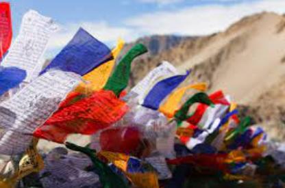 Ritual Cloth Installations of Ladakh